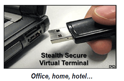 Stealth Secure Virtual Terminal
